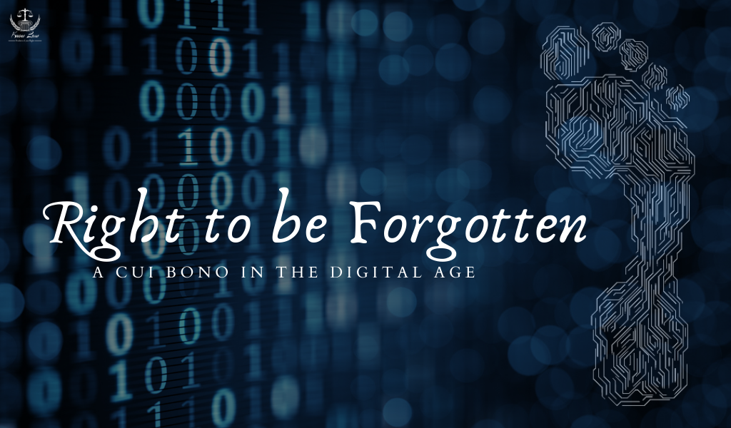 Right to be Forgotten